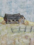 "Abandoned    $295 18"" x 24""   (Acrylic on canvas)        #1035"