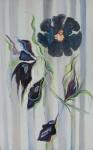 "Bloom   $595.   30"" x 48""     (Acrylic on canvas)  #1133"