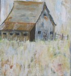 "Heritage Barn    $360 18"" x 24""   (Acrylic on canvas)    #1307"
