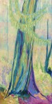 """Forest Sentinel    $950 24"""" x 48"""" Acrylic on canvas (#1293)"""