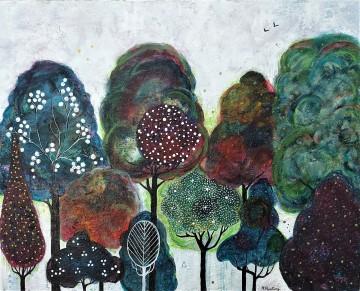"""After The Rain. $495. Acrylic on canvas. 30"""" x 24"""" x 1.5"""" (#1170)"""