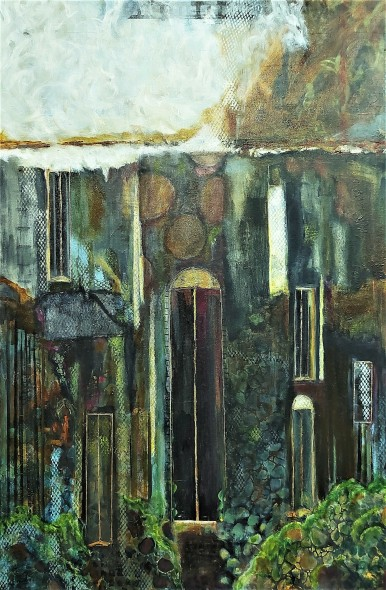 "Light Within. $675. Acrylic on canvas (24"" x 36"" x 1.5""). #1481"